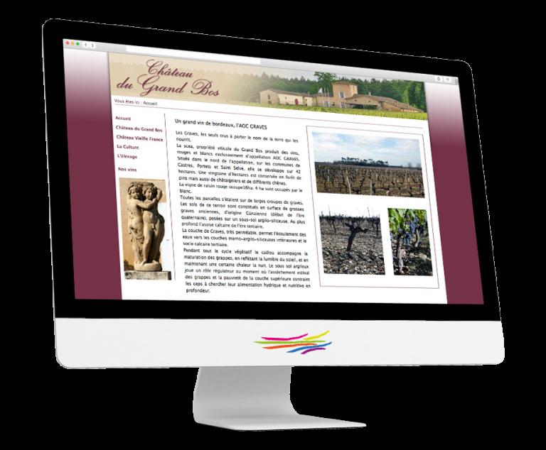 Site Thelia pour le Château du Grand Bos