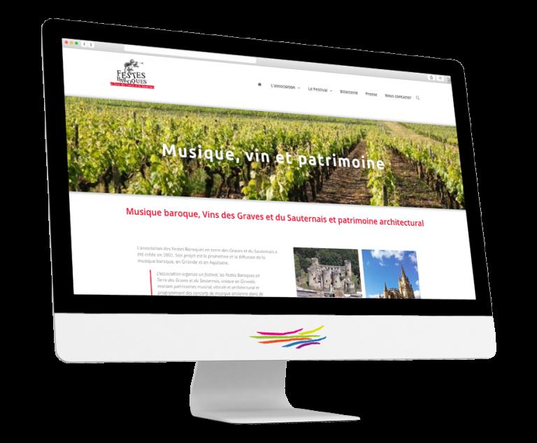 Site WordPress pour l'association Festes Baroques