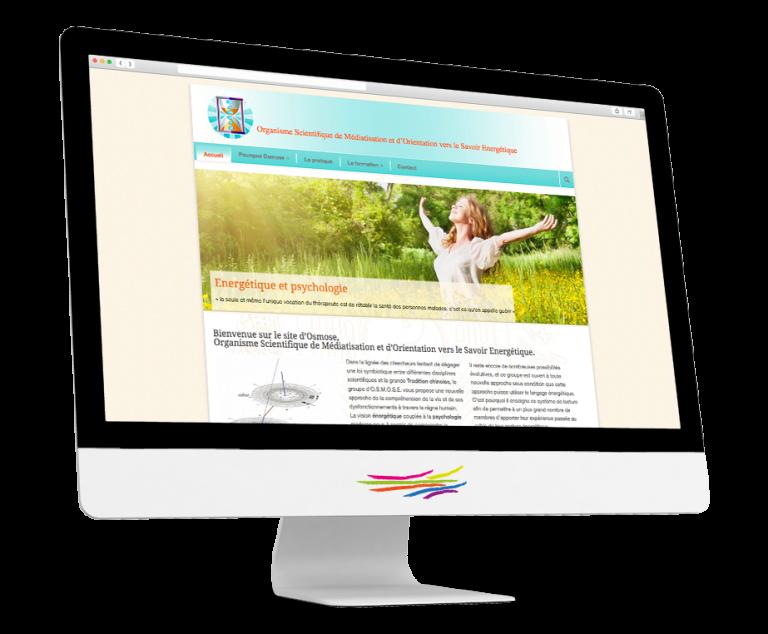 Site WordPress pour Osmose homéopathie