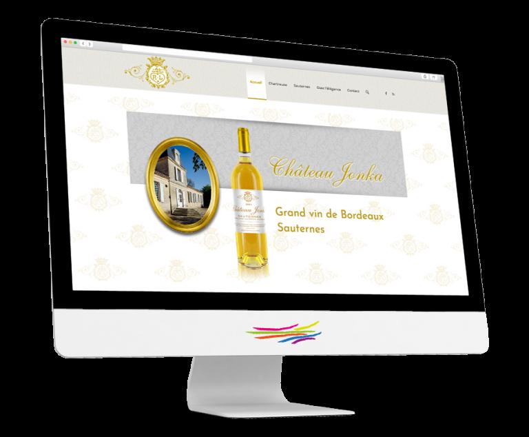 Site WordPress pour le Château Jonka